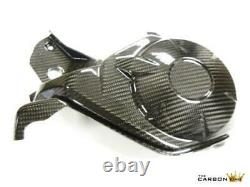 Honda Cbr1000rr 2012 13 14 Carbon Fibre Near Side Engine Cover In Twill Weave