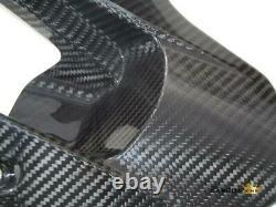 Honda Cbr1000rr 2012-16 Carbon Fibre Rear Hugger In Twill Gloss Weave Mudguard