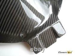Honda Cbr600rr 2007-17 Carbon Rear Mudguard In Twill Gloss Weave Fibre Hugger