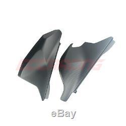 Husqvarna 701 Supermoto Twill Matt CARBON FIBER Rear Spoiler Covers