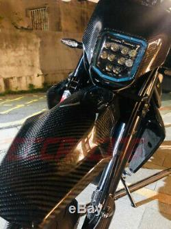 Husqvarna 701 Twill Carbon Fiber Front Fairing
