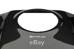 KAWASAKI ZX-10R 2011-2020 Carbon Tank Shroud Twill Gloss 100% Carbon