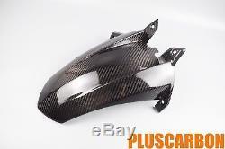 KTM RC8 2008-2012 Twill Carbon Fiber Rear Mudguard GLOSSY Finish(Fits KTM RC8)