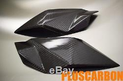 KTM Superduke/R 990 2007-2012 Twill Carbon Fiber Headlight Side Covers Finishing