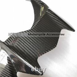 Kawasaki H2 H2R Carbon Fiber Rear Hugger Fender Mudguard Twill Glossy Fibre