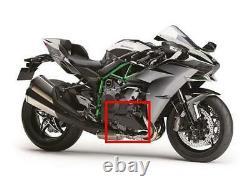 Kawasaki H2/h2r Carbon Fibre Fairing Belly Pans Lower Engine Covers Twill Gloss