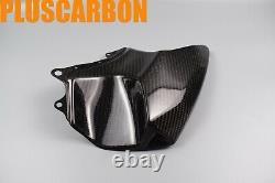 Kawasaki NINJA H2 SX SE Twill Carbon Fiber Front Tank Covers Set Glossy