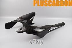 Kawasaki NINJA H2 SX SE Twill Carbon Fiber Rear Hugger/mudguard Glossy Finishing
