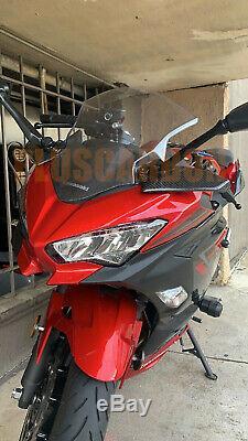 Kawasaki NINJA H2R NINJA 400 Twill Carbon Fiber Winglets Glossy