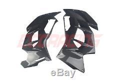 Kawasaki Ninja H2 SX/SE Twill Carbon Fiber Side Panels