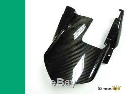 Kawasaki Z1000 2014-18 Carbon Fibre Rear Mudguard In Twill Gloss Weave Hugger