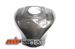 Kawasaki ZX10R 2011-2015 2016 2017 Rear Tank Cover Full Carbon Fiber 100%Twill