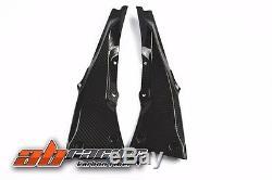 Kawasaki ZX10R 2011 2016 2018 Seat Side Panel Full Carbon Fiber 100%Twill