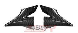Kawasaki ZX10R Underseat Side Panel Fairing Set Covers 100% Twill Carbon Fiber