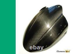 Kawasaki Zx10r 2008-10 Carbon Fibre Rear Hugger In Twill Gloss Weave Mudguard