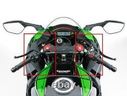 Kawasaki Zx10r 2016 Carbon Fibre Upper Fairing Infill Panels Twill Gloss Weave