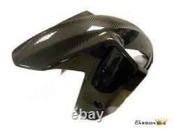 Ktm 1290 Super Adventure Carbon Front Mudguard 2015 Twill Gloss Weave Fibre