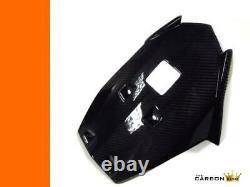 Ktm Duke 125/200/390 Carbon Belly Pan 2011-16 In Twill Gloss Weave Fibre Fiber