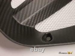 Ktm Rc8 & Rc8r Carbon Radiator Vee Fairing Panel Twill Satin Weave (matt) Fibre