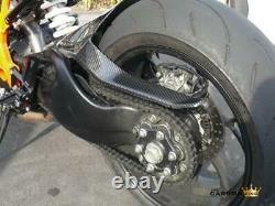 Ktm Superduke 1290 R Carbon Rear Hugger In Twill Gloss Weave Mudguard Fibre