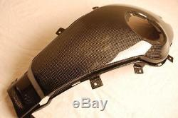MDI Carbon Fiber TWILL Glossy Finish BMW R1100S Boxer Cup Fuel Tank Cover