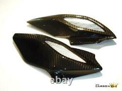 MV Agusta Brutale 675 Dragster 800 Carbon Air Intake Covers In Twill Weave Fibre