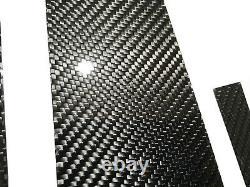 Pillar Panels 6pc Twill Real Carbon Fiber For 15-19 X156 W156 GLA250 GLA45