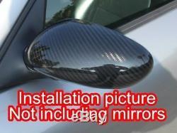 Porsche 996 911 986 Boxster Carbon Fiber Mirror Covers