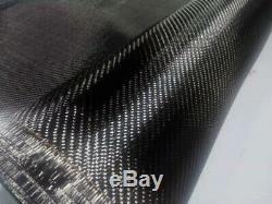 Real Carbon Fiber Setting Fabric Cloth 32 x 6yd 3K 2X2 Twill 200gsm 82cm width