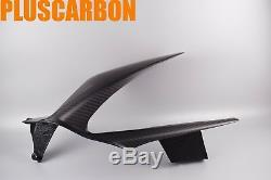 Rear Hugger DUCATI PANIGALE V4 Rear Mudguard Twill Carbon Fiber Matt