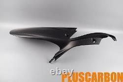Rear Hugger Ducati Multistrada 1200 Enduro Twill Carbon Fiber Rear Mudguard Matt