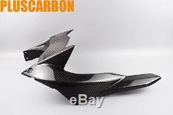 Rear Hugger Kawasaki Ninja H2 2015-2019 Twill Carbon Fiber Rear Mudguard Glossy