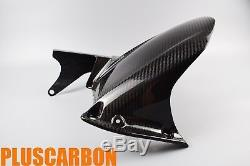 Rear Hugger Yamaha MT-01 2006-2010 Twill Carbon Fiber Rear Mudguard GLOSSY