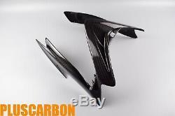 SUZUKI GSX-S1000 F 2016-2018 Nose Upper Fairing Cowl Twill Carbon Fiber Glossy