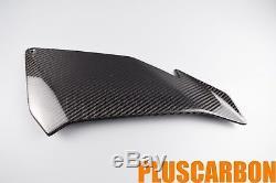 Side Fairing Panels Aprilia Tuono V4 Top Side Panels TWILL Carbon Fiber Glossy