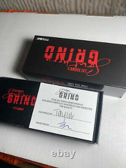 Southern Grind Spider Monkey Carbon Fiber with red G10 twill M4 Limited edition