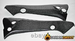 Suzuki B-king Carbon Fibre Frame Covers Fairing Side Panels 2007-2011 Twill