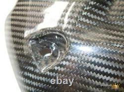 Suzuki Gsxr 600 750 2011-17 Carbon Fibre Rear Mudguard Hugger Twill Gloss Weave