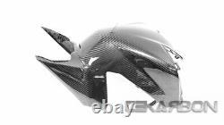 TEKARBON, Carbon Fiber Rear Tank Cover, for Honda CBR1000RR (2017-2019) Twill