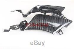 TWILL Carbon Fiber Yamaha R6 2003 2004 2005 Mid Fairing Inserts