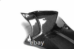 TWILL Matt Kawasaki Carbon Fiber ZZR1400 ZX14 Air Duct 2012 2015 Ram dash covers