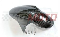 Triumph Speed Triple/R Front Hugger/Mudguard Carbon Fibre Twill Weave 2011