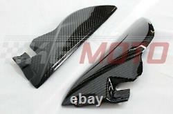 Triumph Speed Triple/R Side Frame Panels Carbon Fibre Twill Weave 2011
