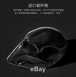 Twill Carbon fiber helmet masks Prom high-end Villain death knell Halloween mask