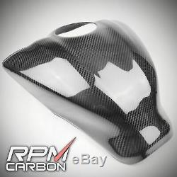 YAMAHA R6 2017+ Carbon Fiber Tank Cover Full Tank GLOSSY TWILL RPM Carbon