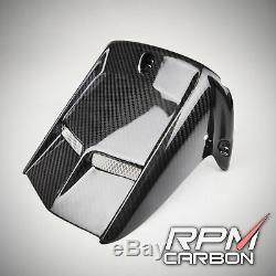 YAMAHA R6 Carbon Fiber Rear Fender Hugger Mudguard GLOSSY TWILL RPM Carbon