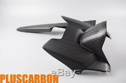 Yamaha FZ-07 MT-07 2014-2017 Rear Mudguard/Rear Hugger Twill Carbon Fiber Matt