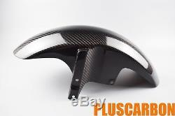 Yamaha MT-01 2006-2010 Front Fender Twill Carbon Fiber Front Mudguard GLOSSY