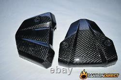 Yamaha Mt-01 Carbon Fibre Engine Covers 2006 2010 Fiber Panel Twill Gloss Mt