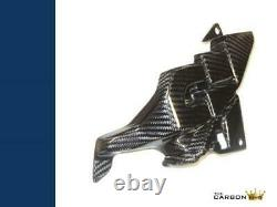 Yamaha R1 2015/19 Carbon Ecu Panel Fairing Cover R1m Left Side Fibre Twill Gloss